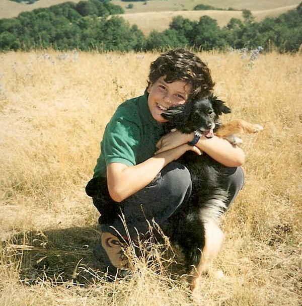 Carlo mit Hund