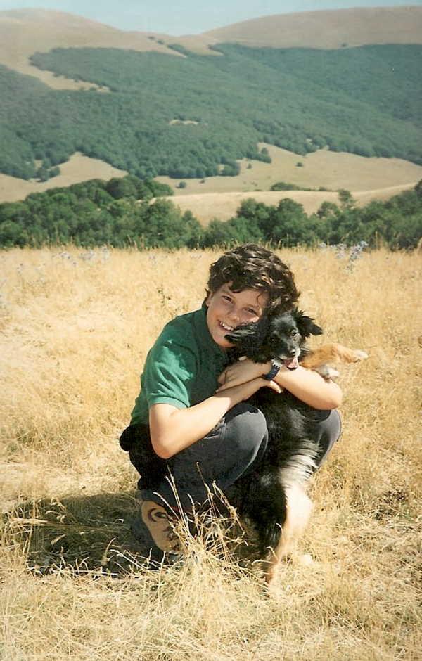 """Carlo mit Hund - """"Internetapostel"""" der Eucharistie"""